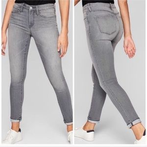 ATHLETA Gray Skulptek Performance Skinny Jeans 4
